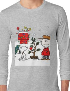 Snoopy and Charlie Brown Long Sleeve T-Shirt