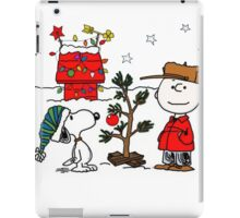 Snoopy and Charlie Brown iPad Case/Skin