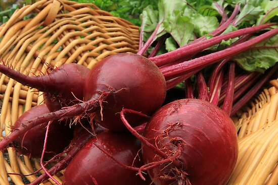 Fresh Beets by Lynn Gedeon