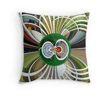 The Tourist - Trying to Decide Which Hotel to Stay at in Hawaii!! Throw Pillow