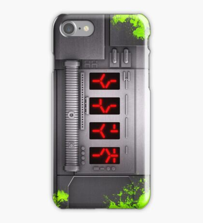 Predator Self-Destruct Blood Splatter iPhone Case/Skin