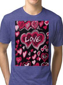 Love abstract Tri-blend T-Shirt