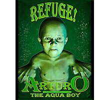 Arturo the Aqua Boy Photographic Print