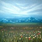 Field of Cosmos by Cherie Roe Dirksen