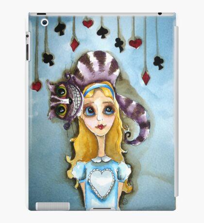 Alice in Wonderland - cat head iPad Case/Skin