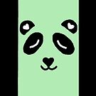 panda phone case by lilmelie