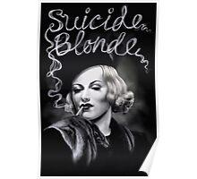 Suicide Blonde Poster