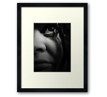 I Can't Get No Sleep ... Framed Print