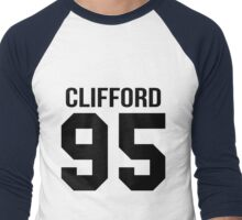 Michael Clifford - College style [Black] Men's Baseball ¾ T-Shirt