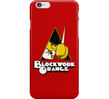 Blockwork Orange iPhone Case/Skin