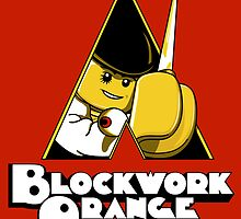 Blockwork Orange by 2mzdesign