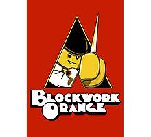 Blockwork Orange Photographic Print