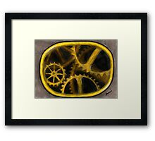 Gear Framed Print