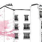 Parisian Windows by Aleksandra Kabakova