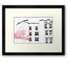 Parisian Windows Framed Print
