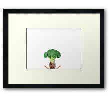 Broccoli Crazy Framed Print