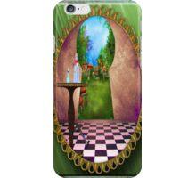 Through The Keyhole iPhone Case/Skin