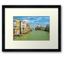 Grand Canal in Venice, Italy Framed Print