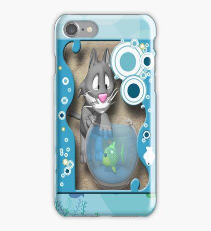 Caught iPhone Case/Skin