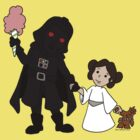 Vader and Daughter by beckadoodles