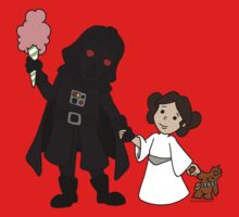 Vader and Daughter Kids Clothes
