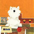 Woof The Westie. by Wendy Taylor.