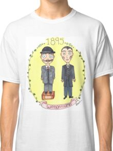 Holmes and Watson 1895 Classic T-Shirt