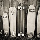 Vintage Skateboards by andigraphix