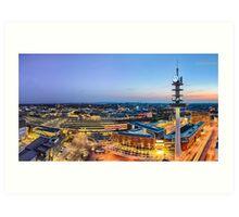 Hannover Skyline Art Print