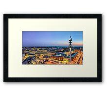 Hannover Skyline Framed Print