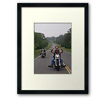 Poker run 2013 Framed Print