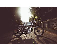 Royal Enfield CHAI RACER Photographic Print