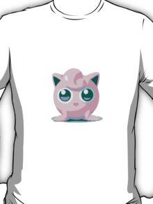 Minimalist Jigglypuff from Super Smash Bros. Brawl T-Shirt