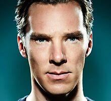 Benedict Cumberbatch by Hashpaden