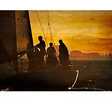 Evening Rites Photographic Print