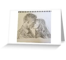 Jackson & Lydia are finally in love Greeting Card