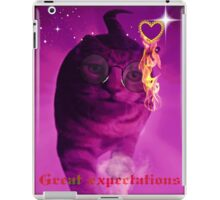 great expectations iPad Case/Skin