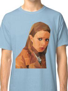 Margot Tenenbaum Low Poly Portrait from the Royal Tenenbaums Classic T-Shirt
