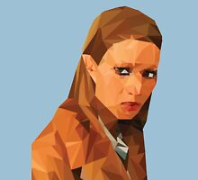 Margot Tenenbaum Low Poly Portrait from the Royal Tenenbaums Unisex T-Shirt