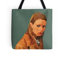 Margot Tenenbaum Low Poly Portrait from the Royal Tenenbaums Tote Bag