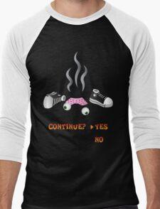 Crash Bandicoot Death Screen Men's Baseball ¾ T-Shirt