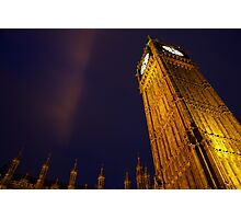 Houses of Parliament and Big Ben Photographic Print