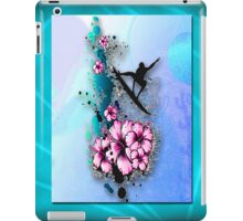 Tropical Tribal Surfing Art iPad Case/Skin