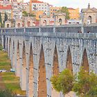 Aqueduto das guas Livres. Aqueduct of the Free Waters. by tereza del pilar