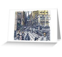 7th & Olive in Seattle Greeting Card