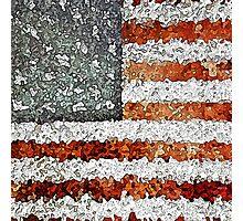 Creative American Flag Photographic Print