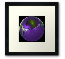 Doorway to Alien World Framed Print