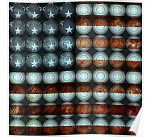 American Flag Creative Poster