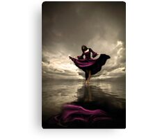 Dancing Alone  Canvas Print