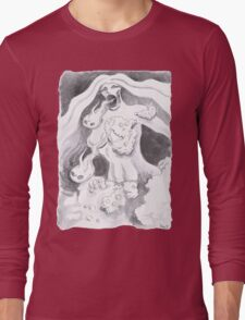 Foamale of Bubbly Chaos Long Sleeve T-Shirt